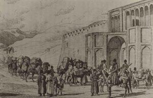 تاریخ گمرک ایران و ترخیص کالا در دوره قاجار، دروازه گمرک تهران