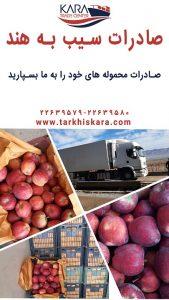 صادرات سیب | صادرات سیب به هند | صادرات سیب به کشورهای دنیا